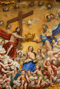 Mother Mary And The Holy Trinity Royalty Free Stock Images - 48176439