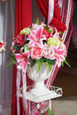 Bouquet Of Artificial  Flowers Stock Photography - 48179022