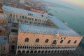 The Venice In Fog At Sunset Stock Photography - 48180162