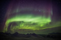 Northern Lights Across The Arctic Sky - Spitsbergen Royalty Free Stock Image - 48207006