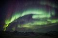 Northern Lights On The Arctic Sky - Svalbard Royalty Free Stock Images - 48207219