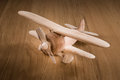 Wooden Toy Plane Stock Images - 48209234
