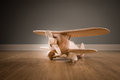 Wooden Toy Plane Royalty Free Stock Photo - 48209235