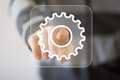 Button Engineering Business Web Icon Royalty Free Stock Image - 48221786