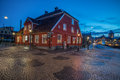 Christmas Atmosphere In Norrkoping, Sweden Royalty Free Stock Image - 48225166