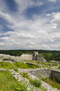 Ancient Ruins Of A Medieval Fortress Close To The Town Of Shumen Stock Image - 48230451