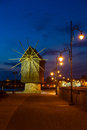 Mill Town Of Nessebar Stock Photo - 48302560