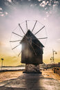 Mill Town Of Nessebar Stock Images - 48302614