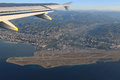 French Riviera And The Nice Airport From Height Of Flight Of The Stock Photo - 48311080