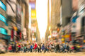 Melting Pot People Walking In Manhattan - New York City Royalty Free Stock Photo - 48314665