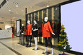 Female Mannequins In Fashion Shop Hall,clothing Store,clothes Store,fashion Shop Royalty Free Stock Photo - 48319305