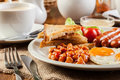 English Breakfast With Sausage Royalty Free Stock Images - 48325979