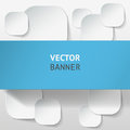 Vector Infographic Origami Banners Set. Stock Photography - 48342082