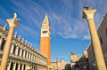 Campanila Bell Tower At Piazza San Marco In Venice Royalty Free Stock Photos - 48350068