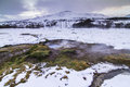 The Golden Circle In Iceland During Winter Royalty Free Stock Images - 48352199