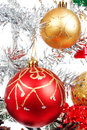 White Christmas Tree Decorated With Many Presents Royalty Free Stock Photos - 48383248
