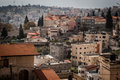 Roofs Of Old City In Nazareth Royalty Free Stock Photography - 48384277