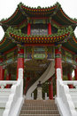 Chinese Temple Building Stock Image - 4846791