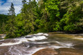 Cascades Of Triple Falls,  In Dupont State Forest, North Carolin Royalty Free Stock Images - 48418049