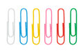 Paper Clip Of Various Color Stock Photography - 48449102