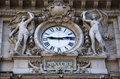 Public Clock At Railway Station Stock Images - 48453764
