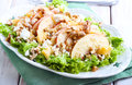 Apple And Nut Salad Royalty Free Stock Photo - 48466305