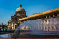 Fountains And The First Church Of Christ, Scientist At Christian Royalty Free Stock Photography - 48467717
