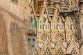 Detail Of A Wall La Sagrada Familia - The Impressive Cathedral Designed By Gaudi Stock Images - 48476014