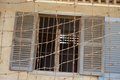 Entrance To Tuol Sleng Prison Cell Stock Photo - 48476740