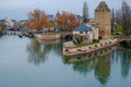 Petite France In Evening, Strasbourg, France Royalty Free Stock Photo - 48478145