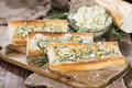 Herb Butter Baguette Stock Photography - 48479122