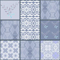 Patchwork Seamless Pattern With Geometric Elements Retro Colors Royalty Free Stock Image - 48497186