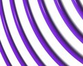 Optical Art Spiral Curves Triangle  Stock Photography - 4851412