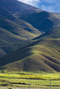 Hilly Tibetan Landscape Royalty Free Stock Image - 4855666