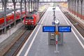Lubeck Railway Station Royalty Free Stock Image - 48504776