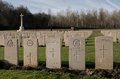 Military Cemetary In France (WW1) Royalty Free Stock Image - 48516856