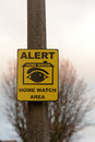 Home Watch Sign Stock Photography - 48517412