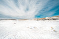 Snow In Front Of ASO VOLCANO MUSEUM Stock Images - 48520144