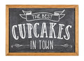 Best Cupcakes In Town Royalty Free Stock Images - 48522019