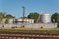 Oil Depot Stock Images - 48524094