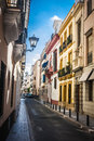 Spanish Town Seville Royalty Free Stock Image - 48525636