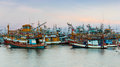 Industrial Fishing In Thailand Stock Photos - 48542963