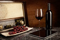 Red Wine, Old And New Technology Royalty Free Stock Images - 48560799