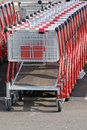 Shopping Carts Stock Photography - 4860802