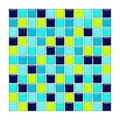 Blue, Aqua And Green Glass Tiles Stock Image - 4861571