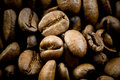 Coffee Beans Texture Royalty Free Stock Image - 4865336