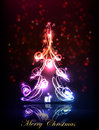 Neon Background, Christmas Tree Royalty Free Stock Photography - 48603267