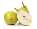 Chinese Fragrant Pear On White Background Stock Image - 48606601