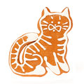 Gingerbread Cookie Cat Royalty Free Stock Image - 48607456
