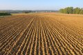 Furrows In Land Stock Photo - 48618840